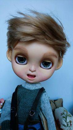 Guarda questo articolo nel mio negozio Etsy https://www.etsy.com/it/listing/495200138/lazy-john-ooak-customized-icy-doll-the