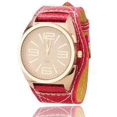 This product uses round big numeral dial. It looks chic and compact. Product Description  Main Features: * 100% brand new & high quality. * Round big numeral dial, easy for viewing. * Durable stainless steel back cover. * A fashionable gift for you and your friends.         Specificatio...