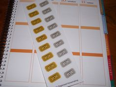 Ticket Stub Stickers / Movie Stickers / Event Stickers / Planner Stickers / Scrapbooking by katy010305 on Etsy