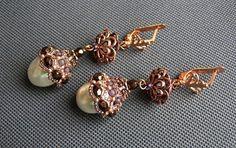 how to make beaded earrings, beaded earrings master class