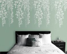 Wall Stencil Art large flower stencil accent www.cuttingedgestencils | flower