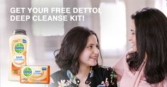 Dettol Deep Cleanse Kit with Apricot Micro-scrubbing beads, provides 100% Better Skin Protection