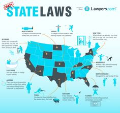 state law, crazi state, news, legal infograph, law infograph, sport, crazi law, android apps, united states