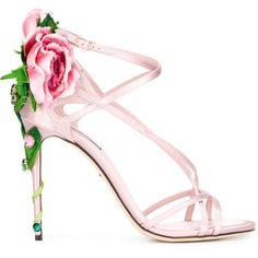 Dolce & Gabbana Ricamo Fiori Sandals