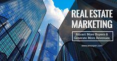 Real Estate Marketing – Woosper Infotech - Your Finance Assistant 2019 Internet Marketing Agency, Top Digital Marketing Companies, Web Design Services, Seo Services, Interactive Marketing, Selling Real Estate, Real Estate Marketing, Finance, Places