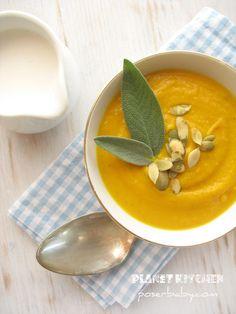 Autumn Soup with Pumpkin