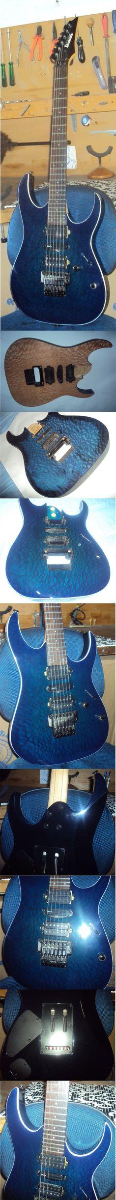 Pintura e adaptações - Colagem do tampo de madeira Louro Faia mais bind, tingimento blue e acabamento!