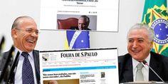 Histérica com Lula, mídia se cala com Temer e PMDB