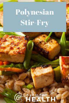 Polynesian stir fry, stir fry recipes, healthy stir fry, healthy stir fry recipes, easy stir fry recipes via /grengahealth/