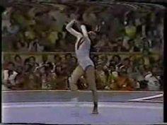 Natalia Shaposhnikova EF FX [1980] - Round off, 1 1/2 twist, RO, flic flac to double pike en un piso más duro que mi cabeza. Mis respetos.