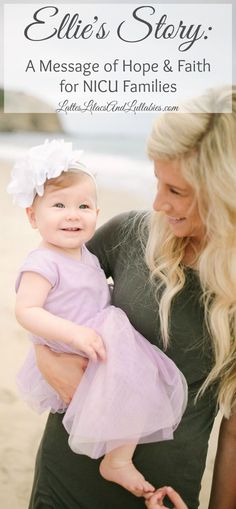 Get an extra dose of inspiration and faith today by reading Ellie's story...
