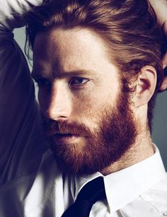 Johnny Harrington. I love beards. And smokin hot redheads.