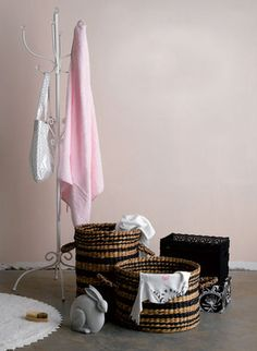 Storage solutions: Nowehere to go with dirty laundry and wet towels? Starting Solids, Get Baby, Storage Solutions, Breastfeeding, Towels, Laundry, Pretty, Breast Feeding, Laundry Room