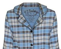 "PJ Salvage Women's Fall Into Flannel ""Shades of Grey"" Pajama Set $65 - SHOP http://www.thepajamacompany.com/store/18996.html"