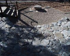 Epic backyard rock amphitheater