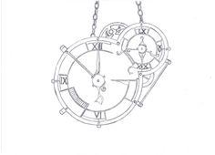 Steampunk clock plan by K-roli94 on deviantART