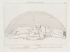 After John Flaxman 'The Death of Ugolino', 1807