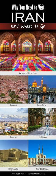 Why You Need to Visit Iran and Where to Go #travel #culture