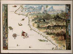 primeiro mapa da australia