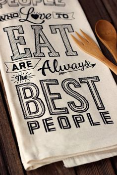 People Who Love to Eat are Always the Best by HeroDesignStudio