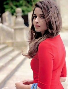 See Pics: Alia Bhatt looks cute in this Red lace Dress Indian Celebrities, Bollywood Celebrities, Bollywood Fashion, Bollywood Girls, Bollywood Stars, Celebrities Fashion, Beautiful Bollywood Actress, Beautiful Actresses, Beautiful Celebrities