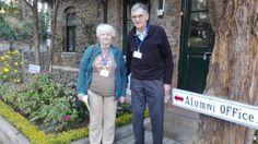 Former staff John and Dorothy Nyce visited us last week! #ILoveKIS #KISAlumni