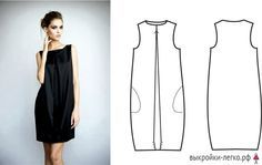 Платья на разные типы фигур для начинающих | Выкройки онлайн и уроки моделирования