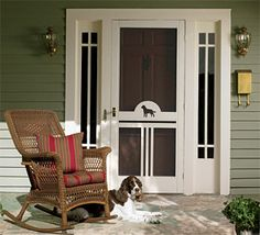 Serendipity: Old Fashioned Screen Doors; Simple, Easy Design To Retrofit  Existing Door