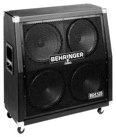 Behringer BG412S Ultrastack 400w bass cabinet $149.95