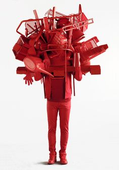 simplyred : sculpture de Daniel FIRMAN france