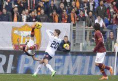 Florenzi Goal #Roma4Genoa0