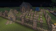 Graveyard for Rune Build - Screenshots - Show Your Creation - Minecraft Forum Cute Minecraft Houses, Minecraft City, Minecraft Plans, Minecraft Survival, Minecraft Construction, Amazing Minecraft, Minecraft Games, Minecraft Tutorial, Minecraft Blueprints