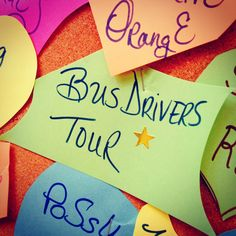 The Bus Driver Tour : )
