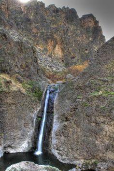 Jump Creek Falls, Idaho Owyhee.