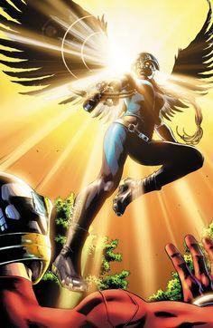Hawkgirl by Nicola Scott