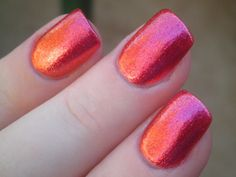 OPI - The Show Must Go On! My top favorite nail colors of all time. From the burlesque collection. Love!
