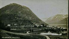 Sogn og Fjordane fylke Jølster kommune privatlagd lokalmotiv Hegrenes tidlig 1900-tallet