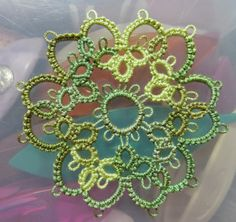 From Myra Piper's book:   Tatting