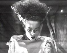 """The Bride of Frankenstein"" (1935)  Elsa Lanchester"