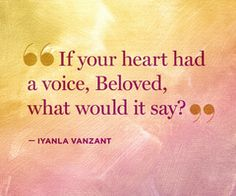 Be True To Yourself: Iyanla Vanzant Quotes