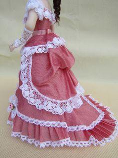 Estas fotos son de los zapatos y diferentes vistas del vestido.