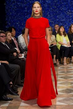 Christian Dior Fall 2012 Couture Fashion Show - Suvi Koponen (Next)