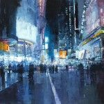 Gritty New Cityscapes by Jeremy Mann