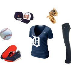 Detroit Tigers, created by heather-schwark-silk