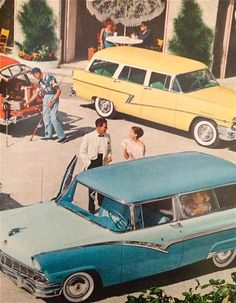 Ford, 1956. I grew up in the wrong era. I would love to live during this period.