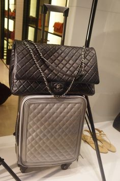 Chanel Airlines Travel Luggage and Carry on