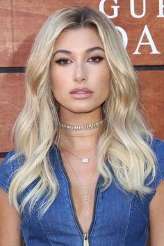 Celebrity Trend Alert Platinum Blondes Hailey Baldwin