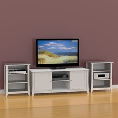 Sauder TV Wall by Sauder. $139.98. This handsome TV wall attaches ...