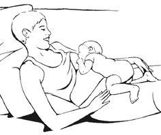 laid- back breastfeeding, or Biological Nurturing