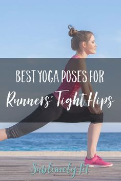 Runners have notoriously tight hips. This collection of yoga poses will help you open your tight hips, helping you feel miles better. Begginers Yoga, Yoga For Runners, Beginner Yoga Workout, Different Types Of Yoga, Running For Beginners, Tight Hips, Cool Yoga Poses, Basic Yoga, Bikram Yoga